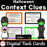 Halloween Context Clues  BOOM Cards