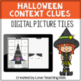 Halloween Context Clues Secret Picture for Google™ Classro