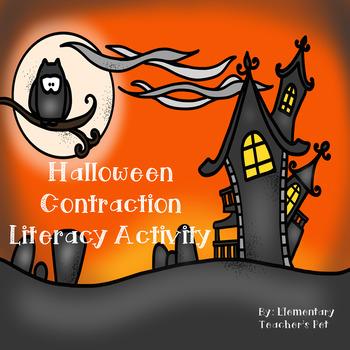 Halloween Contraction Literacy Center