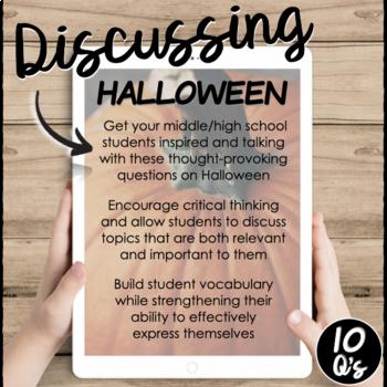 Halloween- Conversation Starters