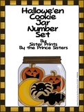 Halloween Cookie Jar 1-20