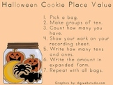 Halloween Cookie Place Value {Standard & Expanded Form}