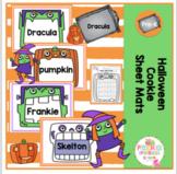 Halloween Cookie Sheet Mats
