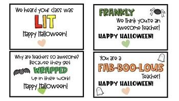 Halloween Cookie Tags