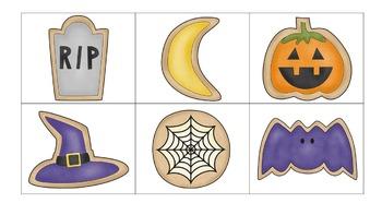 Halloween Cookies Phonemic Awareness Games and Activities