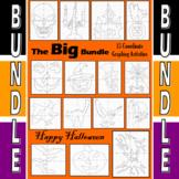 Halloween - The Big Bundle - 15 Coordinate Graphing Activities