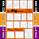 Halloween - The Big Bundle - 15 Coordinate Graphing Activities