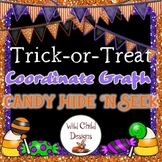Halloween Coordinate Graphing Math Game