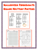 Halloween Coordinate Graphing Mystery Picture