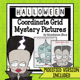 Halloween Coordinate Graphing Mystery Pictures (5th - 9th)