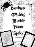"Halloween Activities: Coordinate Graphing Mystery Picture ""Spidey"""