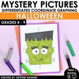 Halloween Activities - Halloween Math - Coordinate Graphin