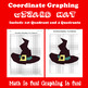 Halloween Coordinate Graphing Picture: Bundle 9 in 1