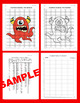 Halloween Coordinate Graphing Picture: Monster