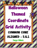 Halloween Coordinate Grid Activity COMMON CORE ALIGNED 5.G.1