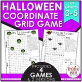Halloween Coordinate Grid Game