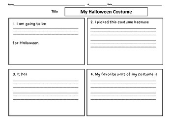 Halloween Costume 4 Square
