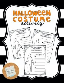 Halloween Costume Activity *Editable