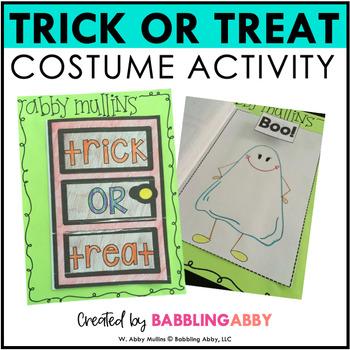Halloween Costume Activity FREEBIE!