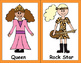 Halloween Costume Alphabet Cards - Cute & Fun 26 drawings of kids in costumes