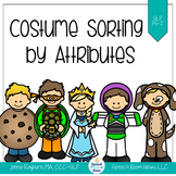 Halloween Costume Attribute Sorting: Language Activity