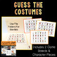 Halloween Costume Bingo and Guessing Game