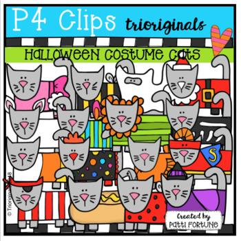 Halloween Costume Cats (P4 Clips Trioriginals)