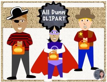 Halloween Costume Clip Art