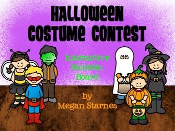 Halloween Costume Contest Interactive Bulletin Board