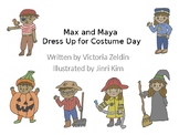 Halloween/Costume Day **PRONOUNS** Animated Storybook + Activity