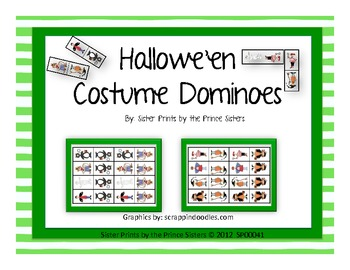 Hallowe'en Costume Dominoes
