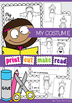 Halloween Costume Emergent Reader {My Costume}
