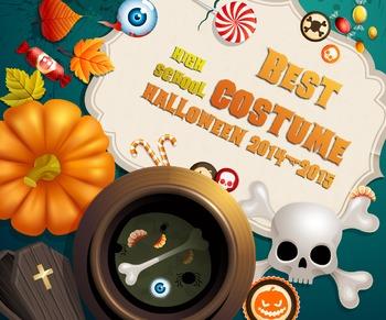 Halloween Costume High Resolution Certificates (K-12 levels)