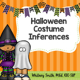 Halloween Costume Inference Clues for Speech Therapy