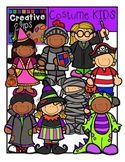 Halloween Costume KIDS {Creative Clips Digital Clipart}
