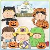 Halloween Costume Kids Clip Art 4 - Halloween Clip Art - C