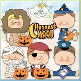 Halloween Costume Kids Clip Art 7 - Halloween Clip Art - C