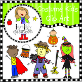 Halloween Costume Kids Clip Art