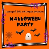 Halloween Computer Activities-Budgeting a Halloween Party-