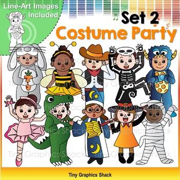 Halloween Costume Party Kids Set 2