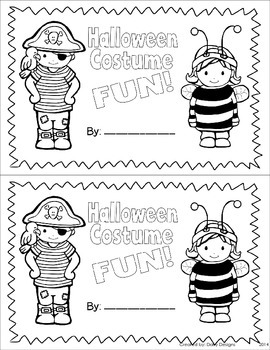 Halloween Math and Literacy Centers - Halloween Costume Party!