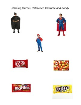 Halloween Costume and Candy
