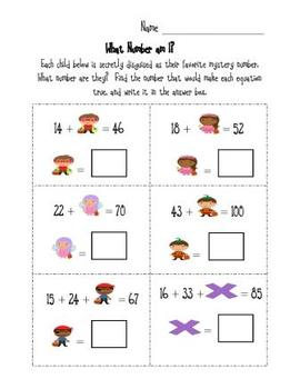 Halloween Costumed Characters: What Number Am I? FREEBIE