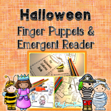 Halloween Emergent Reader, Finger Puppets and Poems