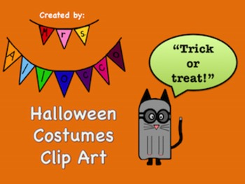 Halloween Costumes Clip Art