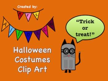Halloween Costumes Clip Art