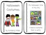 Halloween Costumes Emergent Reader Book 1