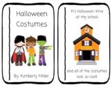 Halloween Costumes Emergent Reader Book 2