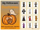 Halloween Costumes Interactive Vocabulary Book