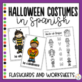 Halloween Costumes in Spanish Mini Activity Pack - Noche de Brujas